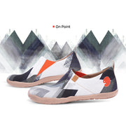 ON POINT Men Canvas Art Painted Travel Shoe