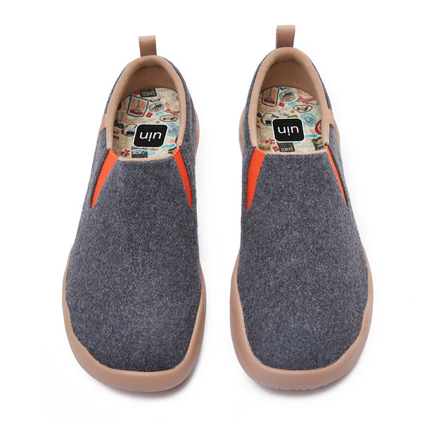Cuenca Deep Grey Wool Men
