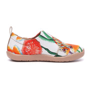 Shell Yeah - Kids Art Painted Canvas Shoes