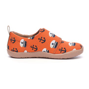 Sea the World - Kids Art Painted Canvas Shoes