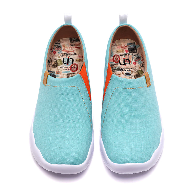 Toledo Light Blue- Women Canvas Casual Shoes