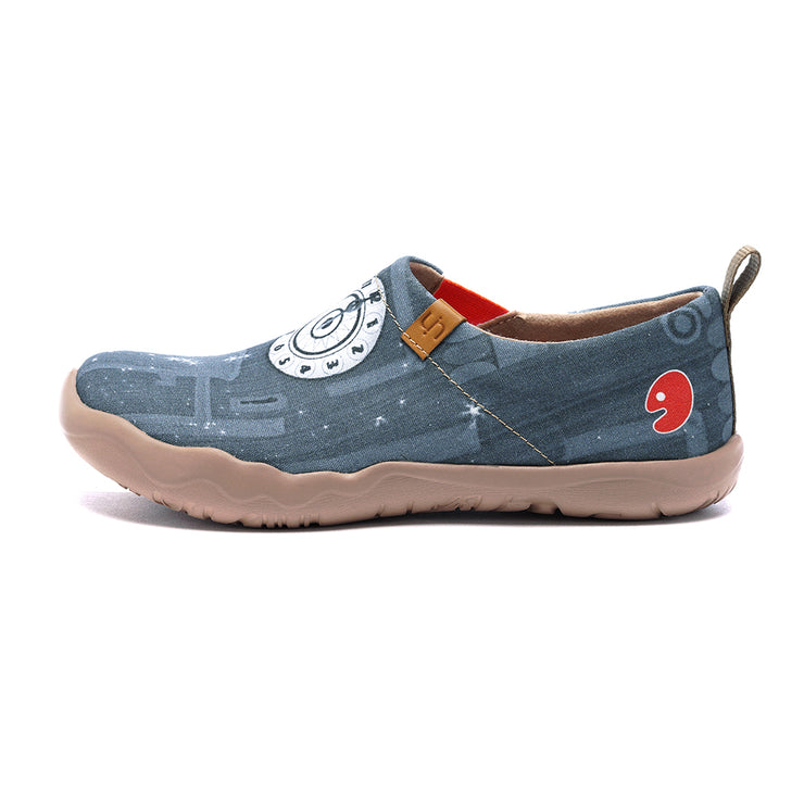 Dreamy Midnight- Women Canvas Casual Shoe
