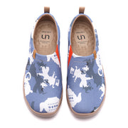 The Mad Hatter- Men Art Painted Canvas Shoes
