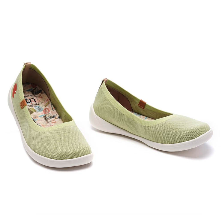 Valencia Knitted Light Green (Kids)