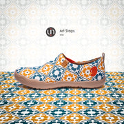 -Art Steps- Women's Canvas Art Painted Travel Shoes