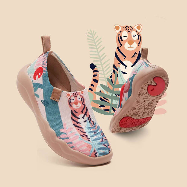 UIN Footwear Kid Little Tiger Kid Canvas loafers