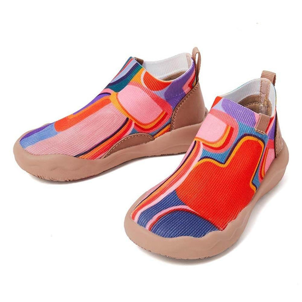 UIN Footwear Kid (Pre-sale) Zesty Planet Kid Canvas loafers