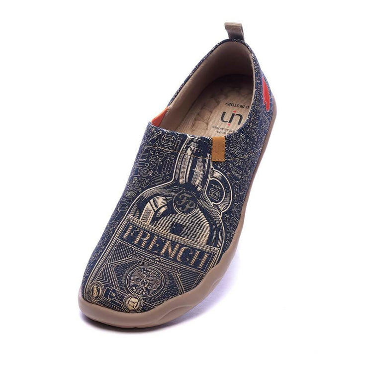 UIN Footwear Men Wine Not? Canvas loafers