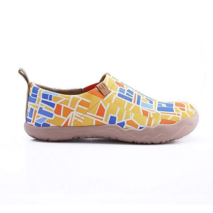 UIN Footwear Women Barcelona Code Canvas loafers