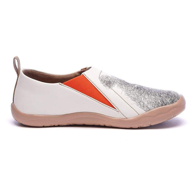 UIN Footwear Women Be with You Cute Female Flats Canvas loafers