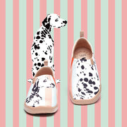 UIN Footwear Women Dalmatian Canvas loafers
