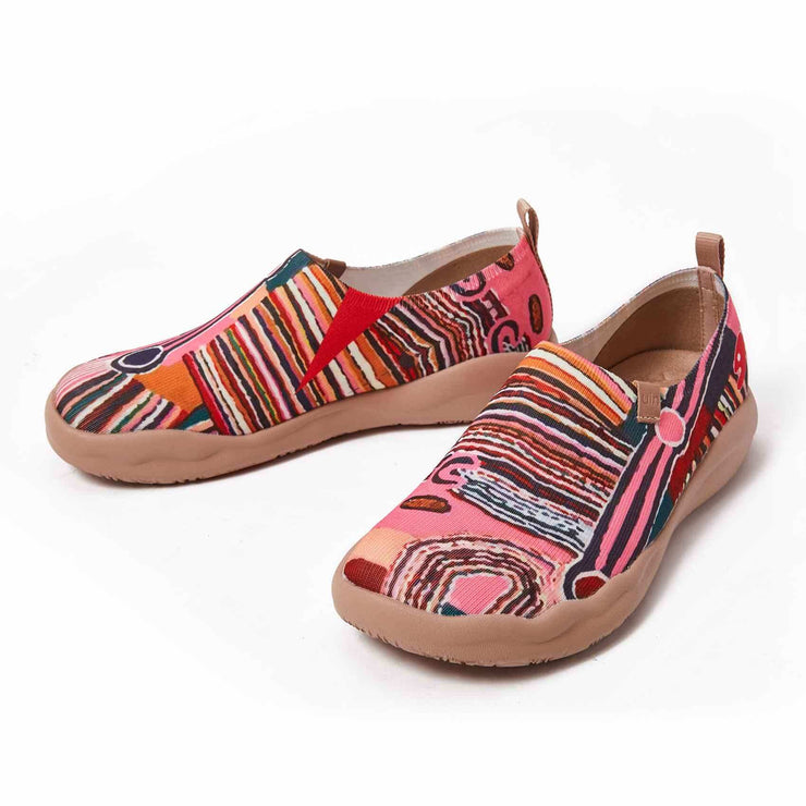 UIN Footwear Women Oceania Canvas loafers