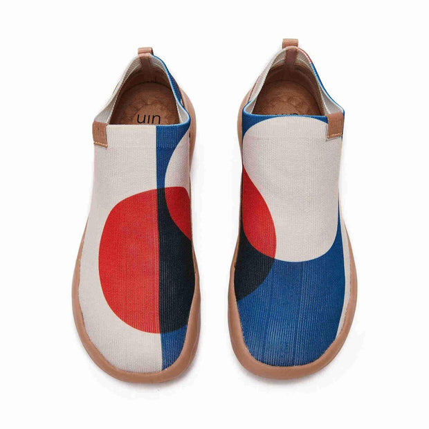 UIN Footwear Women (Pre-sale) Full Moon Canvas loafers