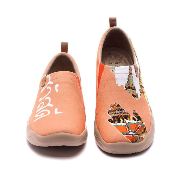 UIN Footwear Women Sawadee Canvas loafers