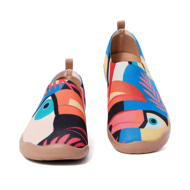 UIN Footwear Women Toucan Canvas loafers