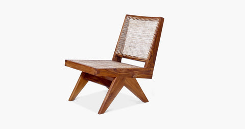 JEANNERET ARMLESS EASY LOUNGE CHAIR
