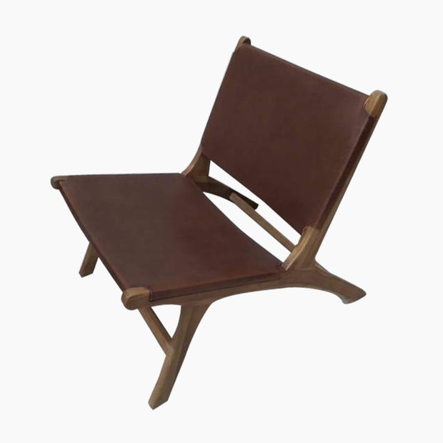 Avila Handmade Leather Lounge Chair
