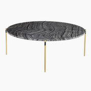 Pixie Black Marble Coffee Table