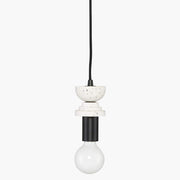 Alena V4 Pendant - Speckled White
