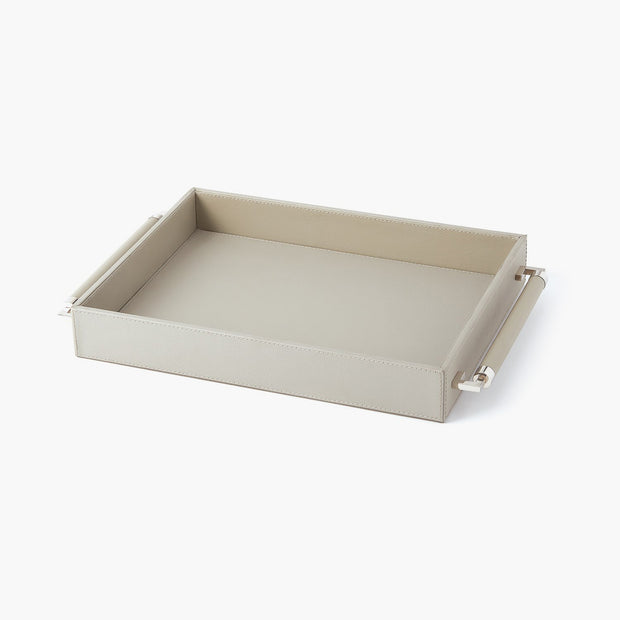 Double Handle Serving Tray-Grey freeshipping - Forom