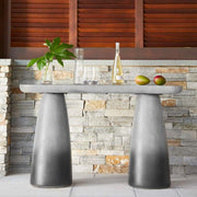 Bowlero Concrete Outdoor Console Table freeshipping - Forom