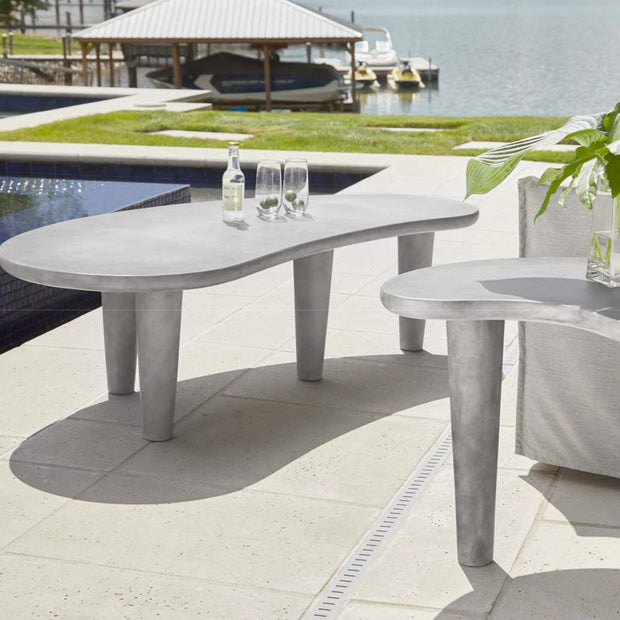 Palette Concrete Outdoor Coffee Table freeshipping - Forom