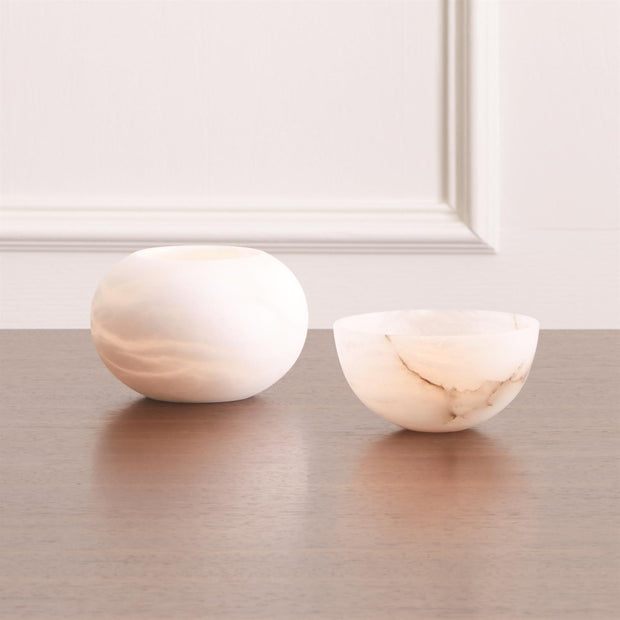 MINI ALABASTER BOWL freeshipping - Forom