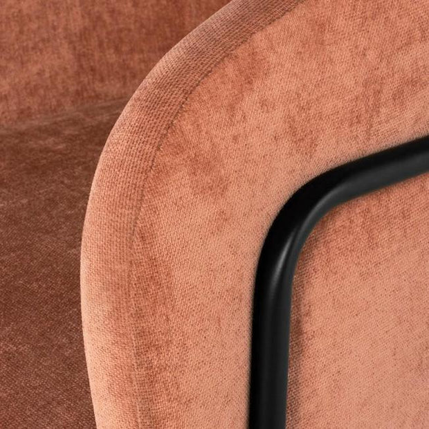 Estrella Velour Dining Chair