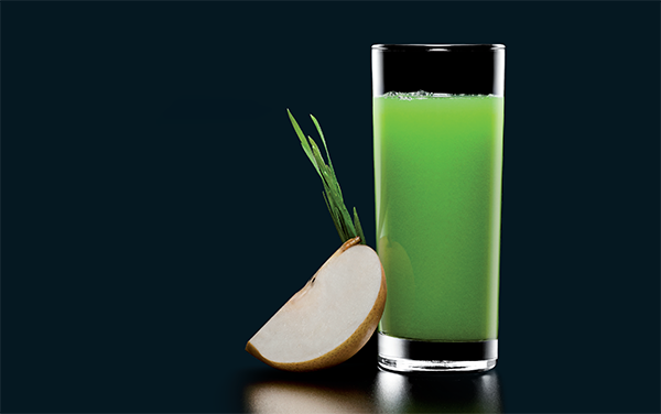 Wheatgrass Pear