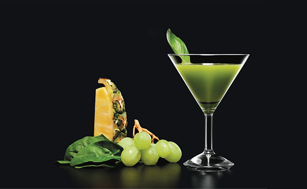 Spinach Basil Pineapple
