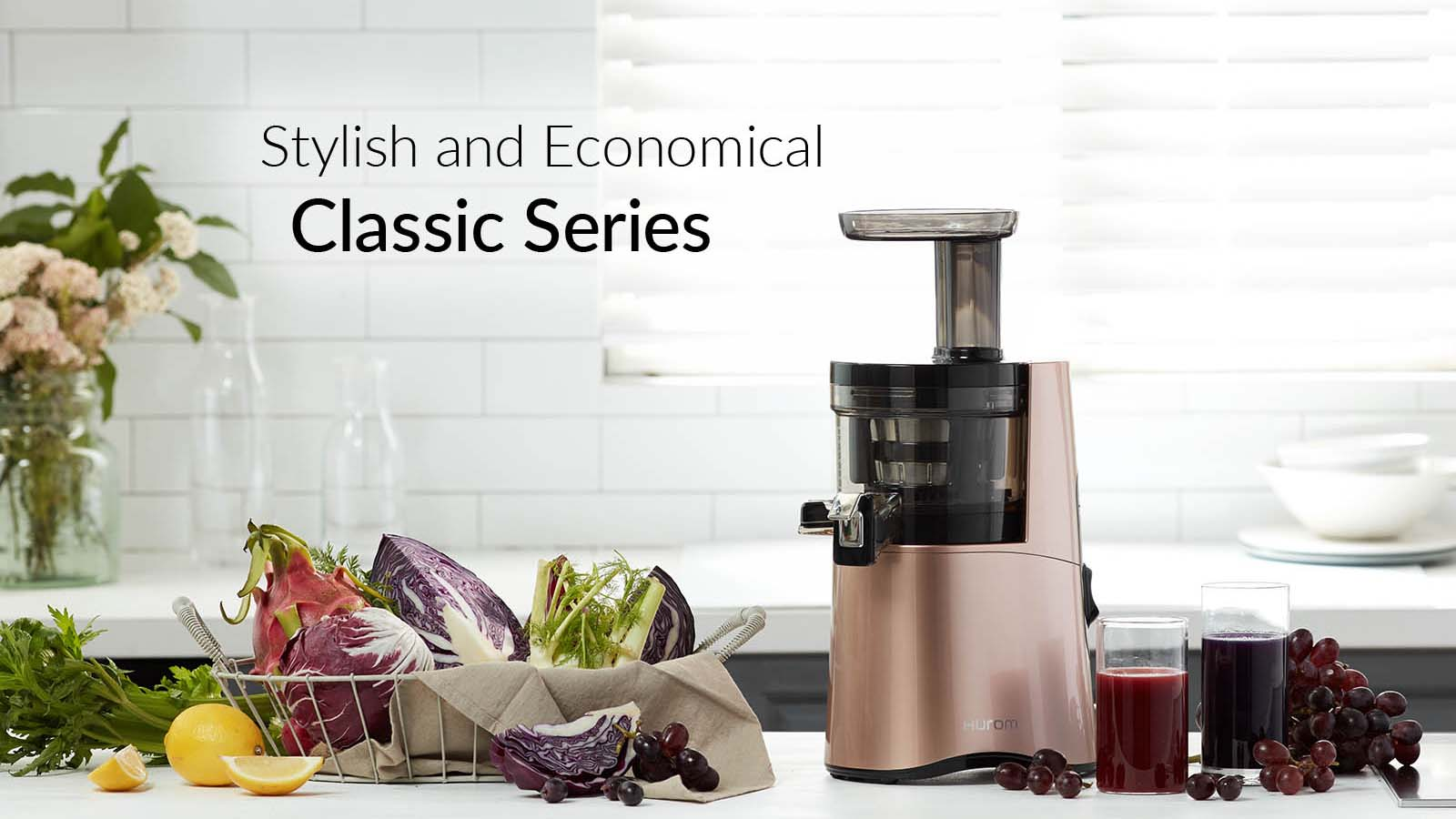 Hurom HAA Classic Series Cold Press Slow Juicer