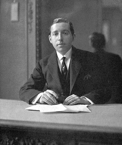 One of the famous three brothers of Cartier Jewelry, Pierre Cartier
