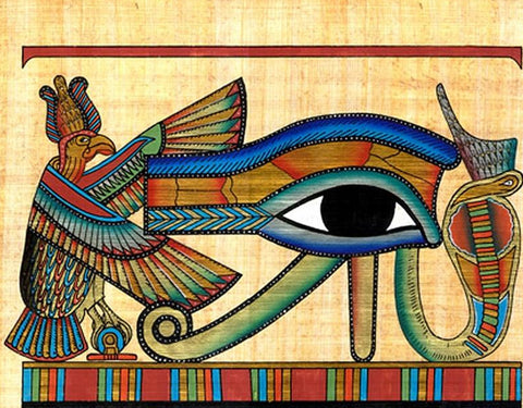 Many cultures, including the Egyptians, believed in evil eye curses.