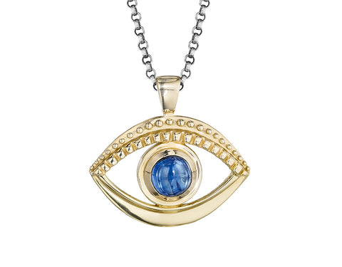 Evil Eye pendant by Jane Bartel Jewelry