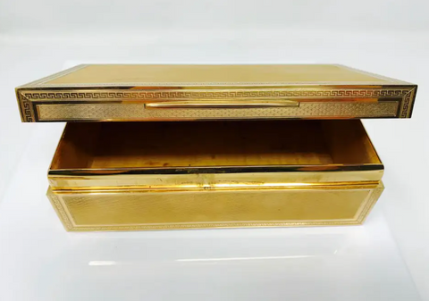 Solid 18k Gold Jewelry Box from Tiffany