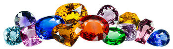 Sapphires come in all of the colors of the rainbow