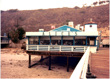 Alice's Restaurant on the Malibu Pier