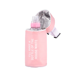 The House White Thermal Bottle Bag