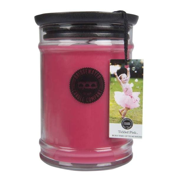 Tickled Pink Large Candle