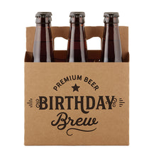 Load image into Gallery viewer, Birthday Brew Kraft Beer Carrier