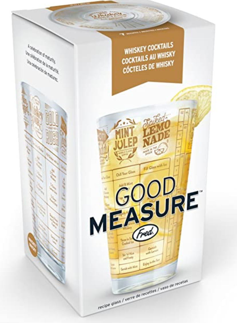 Good Measure- Whiskey Cocktail