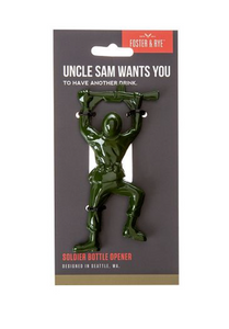 Uncle Sam Wants You To Have Another Drink Bottle Opener