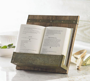 Rustic Cookbook Holder