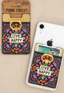 Live Happy Phone Pocket