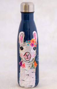 Llive happy llama water bottle