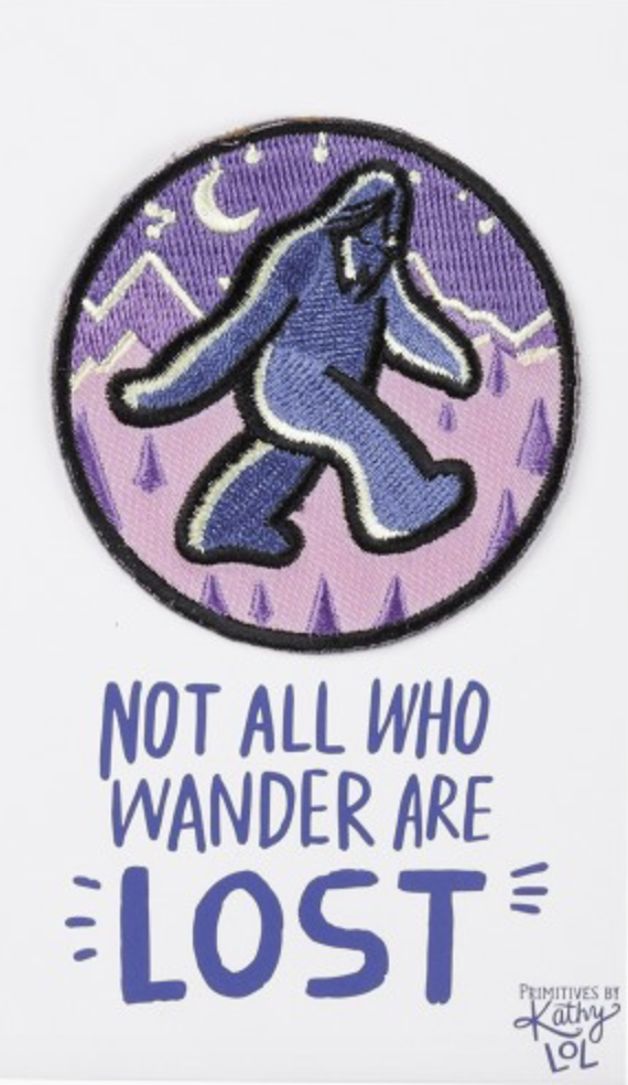 Not all Who Wonder Patch