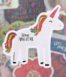 Natural Life Stay Magical Sticker