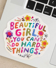 Load image into Gallery viewer, Natural Life Beautiful Girl Sticker