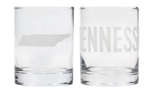 Tennessee Rocks Glass Set
