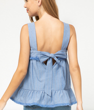 Load image into Gallery viewer, Bluebell Ruffle Top